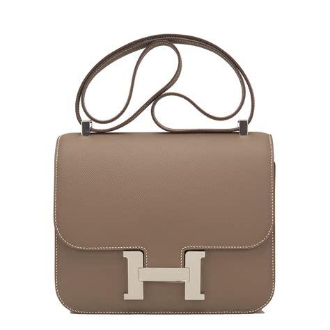 Hermes Constance Bag 24cm Etoupe Epsom Palladium Hardware