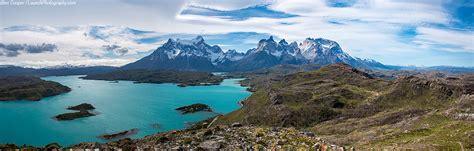 Torres del Paine panoramas, Salto Grande panorama ...