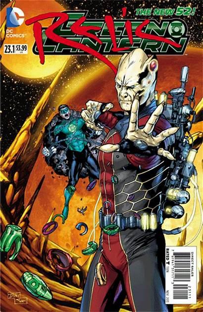 Comics Dc 3d Villains Lantern Month Covers