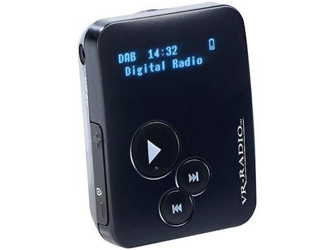 dab plus empfang vr radio pocket mini radio clip mit dab dab empfang rds