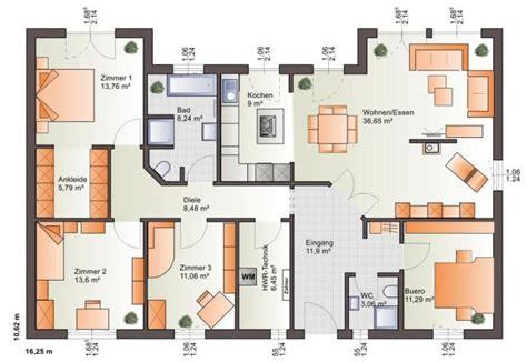 Kinderzimmer Grundriss Beispiele by Extrem Cooler Grundriss F 252 R Einen Bungalow B 228 Renhaus
