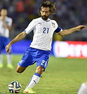 Andrea Pirlo gets free-kick tips from Juninho Pernambucano ...