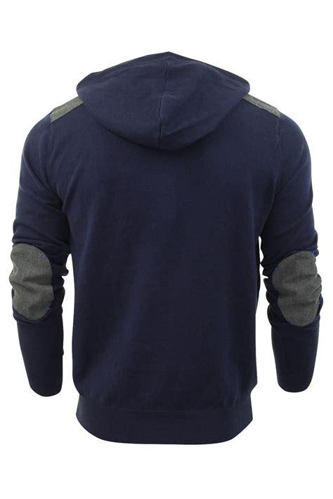 mens hoodie jumper threadbare brazil hooded cotton knit