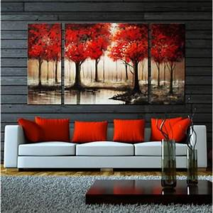 best 25 red accents ideas on pinterest red living room With best brand of paint for kitchen cabinets with set of 4 canvas wall art