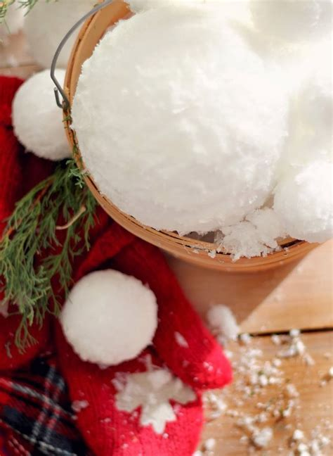 snowball christmas decorations ideas youll love