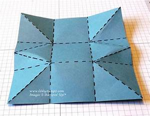 triangle packaging template - triangle box video libbystampz libby dyson stampin