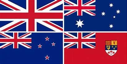 Canzuk Flag Australia Canada Zealand Flags Anglosphere
