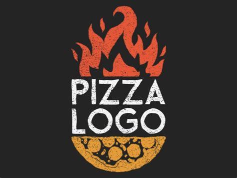 placeit pizza restaurant logo maker  fire clipart