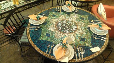 mosaic outdoor dining table 42 x 93 quot