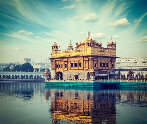 The Golden Temple Amritsar India Map Video Location