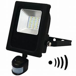 Projecteur Led Avec Détecteur De Mouvement : projecteurs led eva lighting achat vente de ~ Dailycaller-alerts.com Idées de Décoration