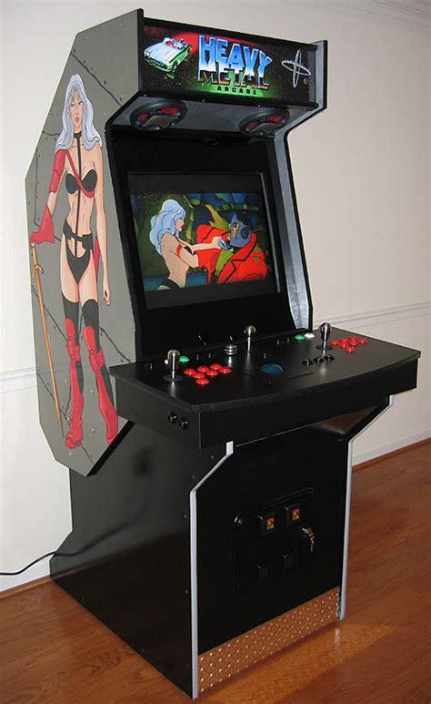 4 player arcade cabinet build heavy metal arcade arcade cabinet the arcade is on