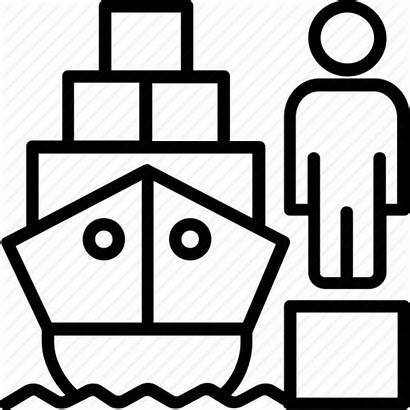 Icon Icons Clipart Premium Clipground Logistics Cargo