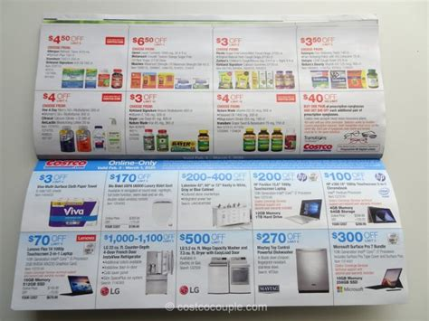 Costco February 2020 Coupon Book 02/05/20 to 03/01/20