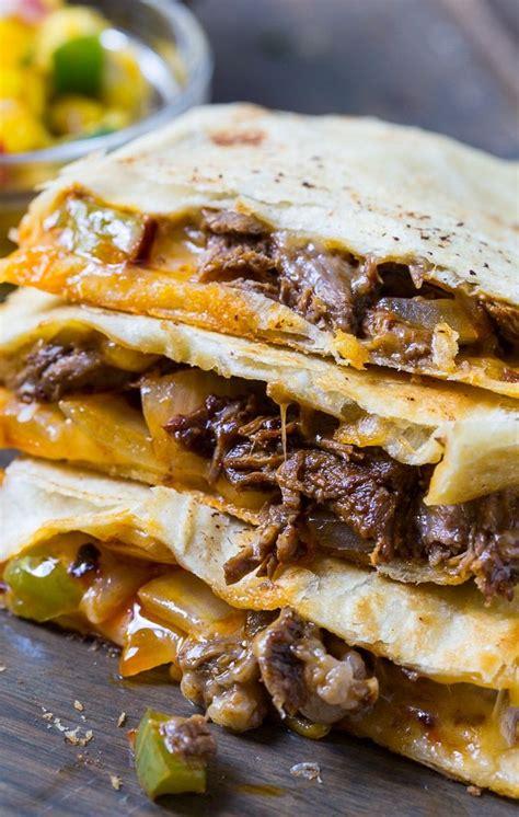 spicy beef quesadillas recipe beef quesadillas
