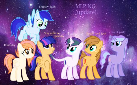 Mlp Ng The New Mane Six By Treeshacloud On Deviantart