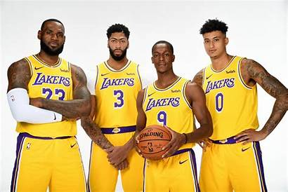 Lakers Jogadores Pausa Reunido Podem Ter Durante