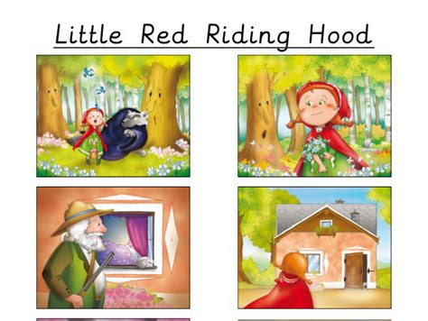 Little Red Riding Hood By Teachingideas