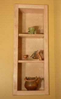 recessed wall cabinet between studs 17 best images about recessed shelves on pinterest