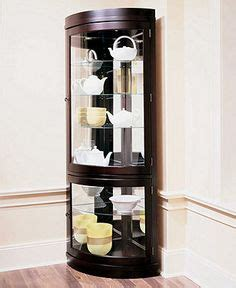 Macys Corner China Cabinet 1000 images about collections display amp curio cabinets on
