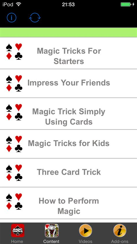 easy card tricks for app shopper awesome card tricks easy magic tricks for kids and tips entertainment
