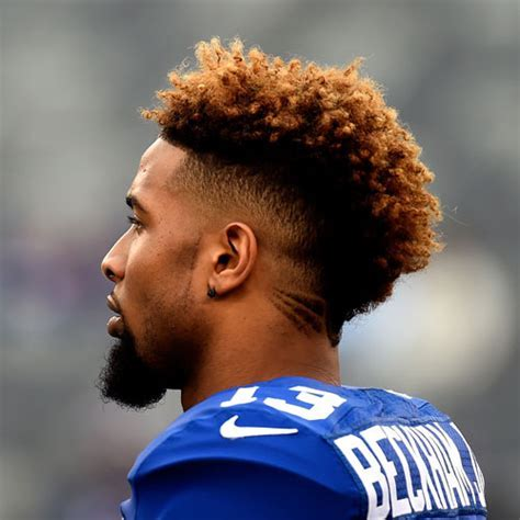 Odell Beckham Jr. Haircut   Men's Hairstyles   Haircuts 2018