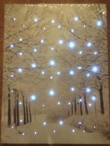Wall art designs light up canvas paintings with