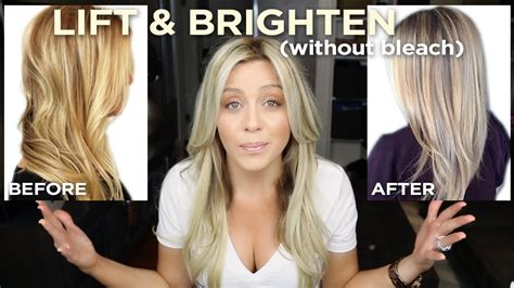 lift  brighten  blonde   step