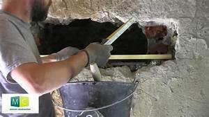maconnerie pose linteau percer une porte make a door With ouvrir un mur porteur en pierre