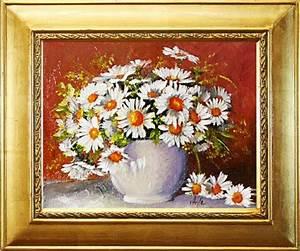 ölgemälde Blumen In Vase : blumenstrau blumen vase gem lde lgem lde bilder bild lbild mit rahmen g05069 ebay ~ Orissabook.com Haus und Dekorationen