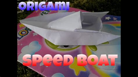 Origami Speed Boat by Origami Speed Boat