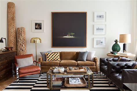 Nate Berkus Sofa earth tone colored rooms by nate berkus style