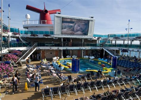 carnival conquest lido deck plans carnival images of carnival cruise line ship
