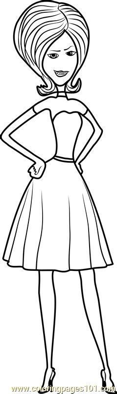 scarlet overkill coloring page  minions coloring pages coloringpagescom
