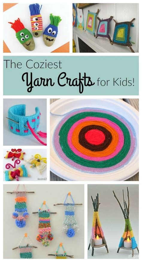 yarn crafts crafts for preschoolers and crafts for 398 | 66c0dea53ceb91678447bcfb9d53deac