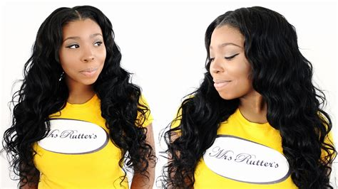 Partial Sew In With Leave Out