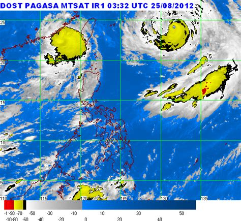 12 day pagasa weather forecast. PAGASA Weather Update August 25, 2012