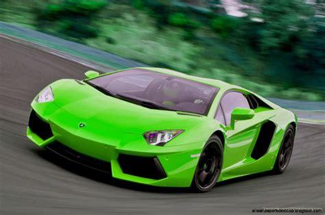 Green Lamborghini Aventador Wallpaper Hd