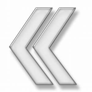 Double Left Arrowhead Icon #006783 » Icons Etc