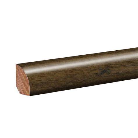pergo flooring quarter pergo molasses maple 0 62 in thick x 0 75 in wide x 94 5 in length laminate quarter round