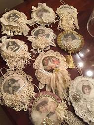 victorian christmas ornaments pinterest - Victorian Christmas Tree Decorations To Make