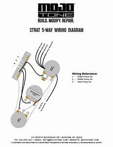 5 Way Guitar Wiring Diagram