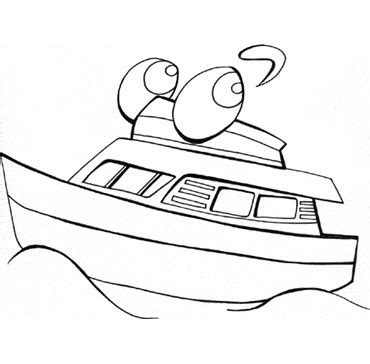 Tekne Boyama by Free Boat Coloring Pages For Kids Free Printable
