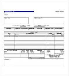 Service Template Excel Service Invoice Template 11 Free Word Excel Pdf Format Free Premium Templates