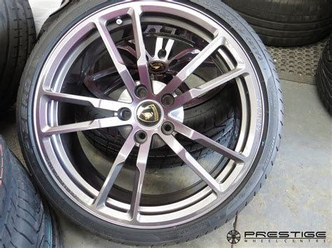 lamborghini gallardo performante alloy wheel refurbishment