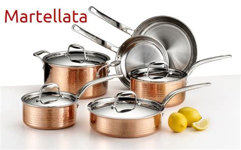 giada italy prodotto copper cookware set cookware set stainless steel cookware set