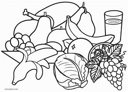 Coloring Pages Healthy Printable Cool2bkids