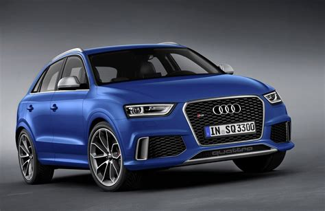 audi rsq  rs suv  wear   price tag