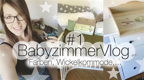 Diy  Babyzimmer Vlog #1 I Farben, Wickelkommode, Etc