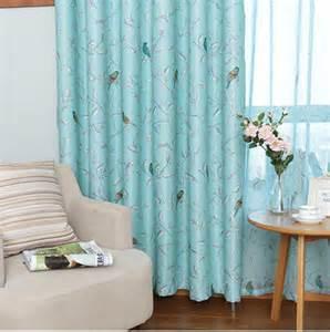 Bird Living Room Curtains